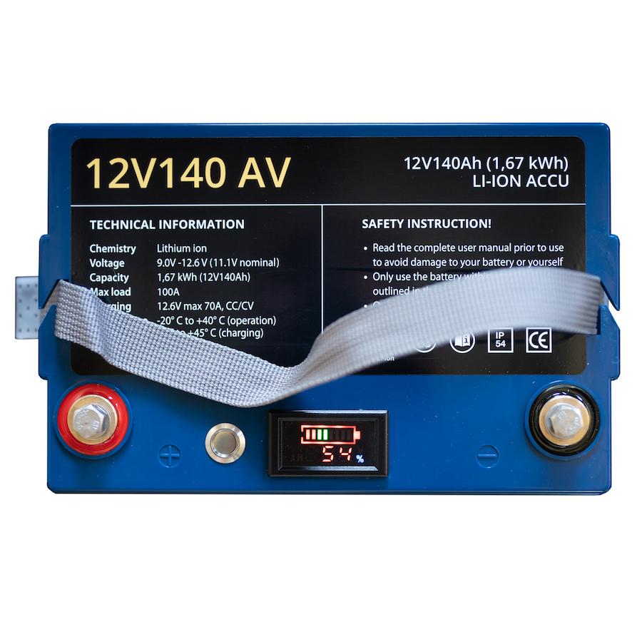 12V140 AV Li-ion 1.67KWH