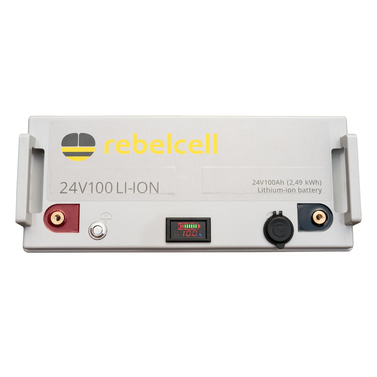 24V100 li-ion batteri (2,49 kWh)